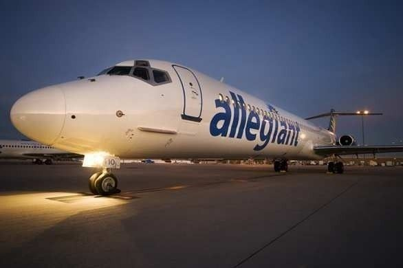 Another Allegiant flight that left Orlando  Sanford  International Airport was diverted today, again because of mechanical issues.