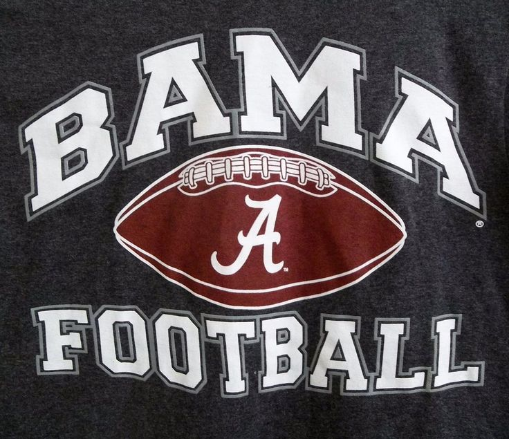 University Of Alabama Bama Football T-Shirt Adult S Small #Delta #AlabamaCrimsonTide
