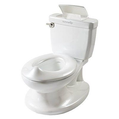 Infant, Toddler My Size Potty Training Chair Seat Toilet w Lid For Boys n Girls Only 2 In Stock Order Today! Product Description: The Summer Infant My Size Potty features the look and feel of an adult