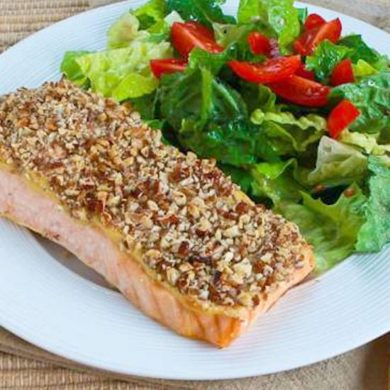 Quick and Easy Pecan-Crusted Dijon Salmon | Dijon salmon, Recipes for ...