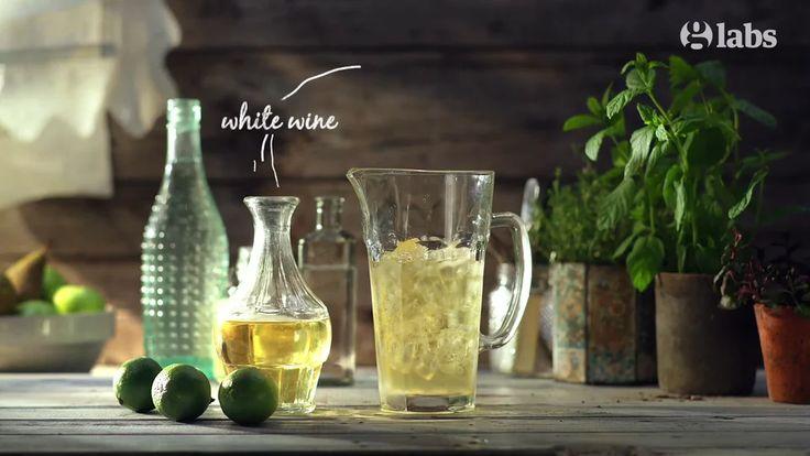 White Wine & Elderflower Spritz - The Guardian / Animated Recipe on Vimeo