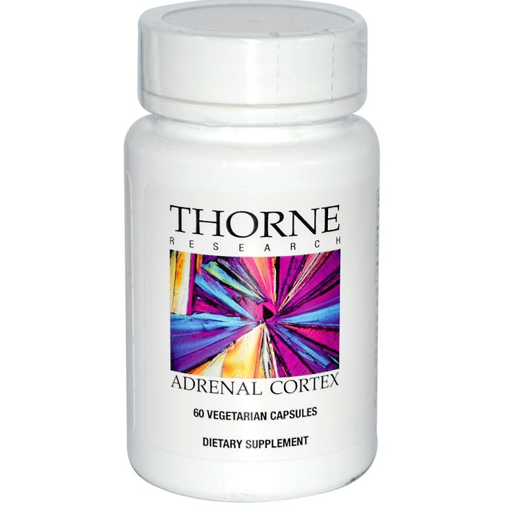 Thorne Research, Adrenal Cortex, 60 Vegetarian Caps 11.39