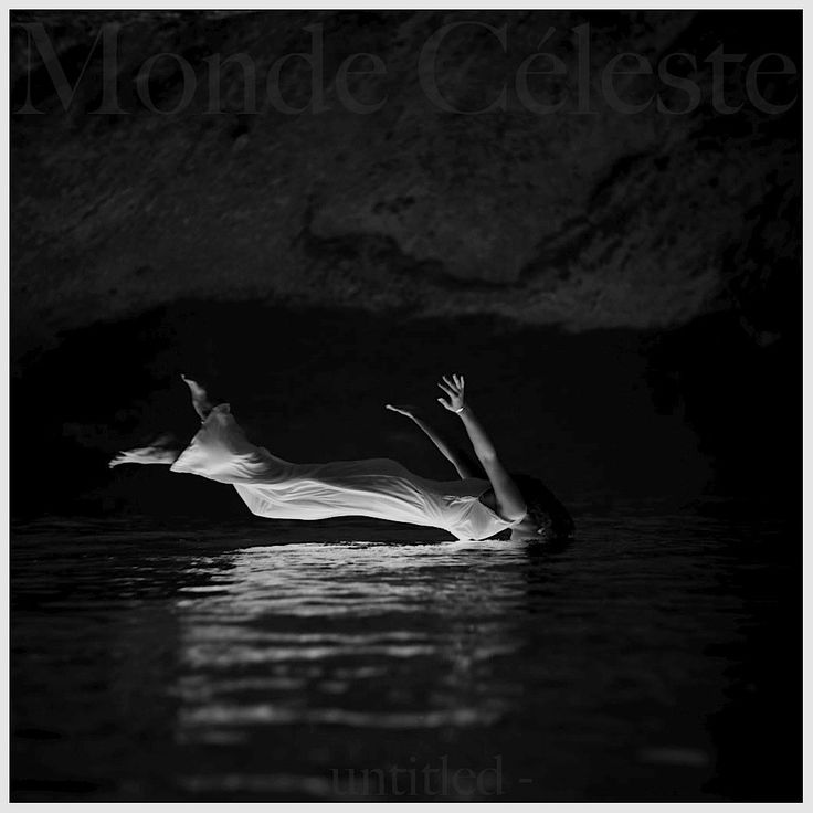 "2014 Monde Céleste - Untitled Album [http://mondeceleste.bandcamp.com/] original version: Toni Frissell ""Weeki Wachee Springs, Florida (1947)"" #albumcover"