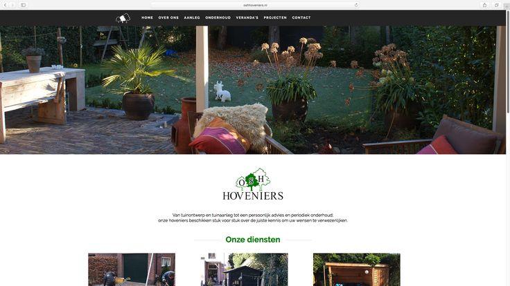 Een frisse, nieuwe website voor OSH Hoveniers, gebouwd door Logisch!