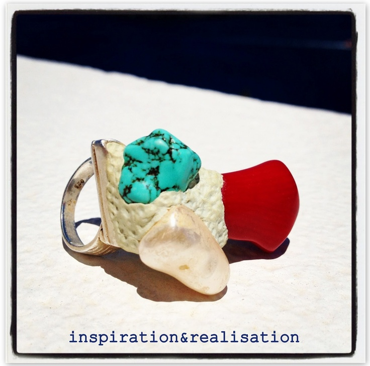 inspiration and realisation: DIY statement ringStatement Rings, Diy Fashion, Mighty Putty, Diy 4Th, Diy Jewelry, Fashion Blog, Crafts Tutorials, Diy Rings, Diy Statement