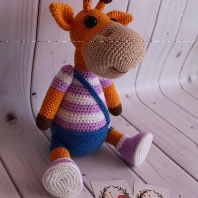 Жирафик Ральф 😊 Ростик 28 см Ручки,ножки подвижны😉 Связан из полухлопка, внутри гипоаллергенный наполнитель👍 По мк Марии Устюшкиной Жирафмк связан в подарок, возможен повтор 👌 #crochet #handmadetoy #toy #cute #вязаниеназаказ #кукларучнойработы #детскиеигрушки #интерьернаякукла #вязаниедетям #вязаниедетям #вяжутнетолькобабушки #вяжуипродаю #knitting #knittersoftheworld#amigurumi #амигуруми - #вязаниедетям #knitting #knitting_inspiration #игрушкиручнойработы #тюмень #сынок #доченька #де...
