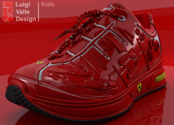 3D shoes Kids and Ladies by luigi valle at Coroflot.com
