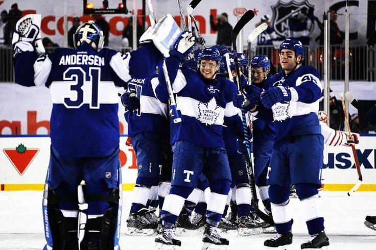 Toronto Maple Leafs win!