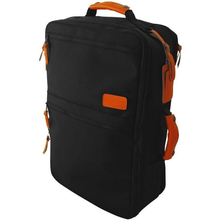 FREE WORLDWIDE SHIPPING! Standard's Carry-on-sized backpackis the ultimate luggage for international travel and fits airline size rules. Our bagis a 3-in-...