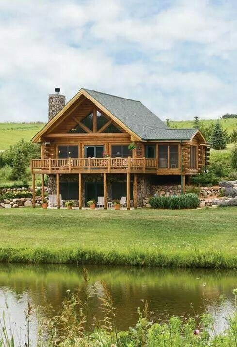 17 migliori idee su case di tronchi su pinterest baite e for Case di tronchi ranch