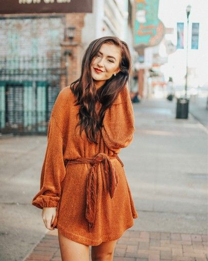 Free People Fete Sweater Dress: fall OOTD, thanksgiving dress