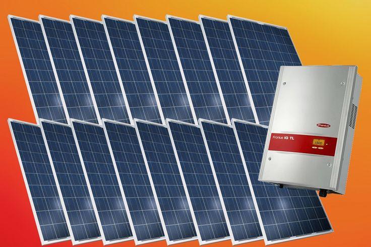 Zestaw ogniw 3.84kW Canadian Solar CS6P-240P + falownik Fronius IG TL 3.6