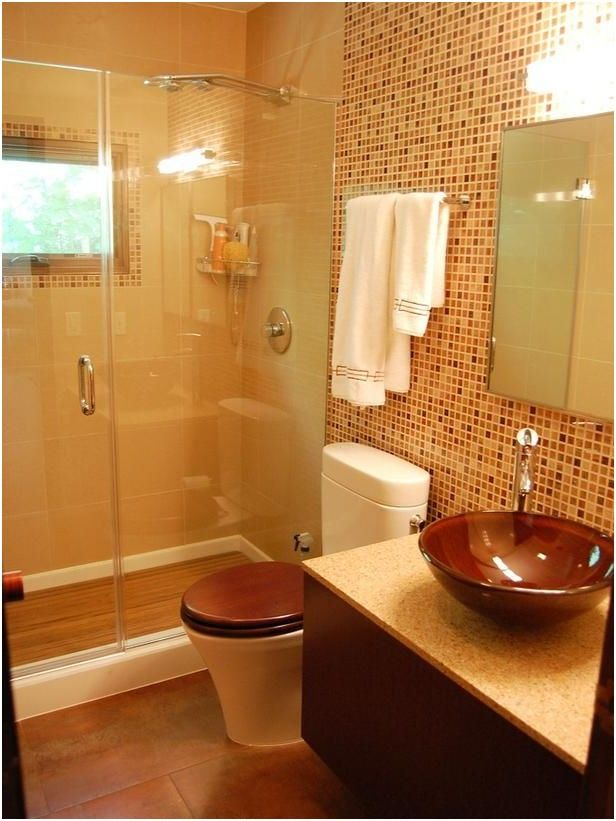 awesome Luxury Brown Tiles Bathroom