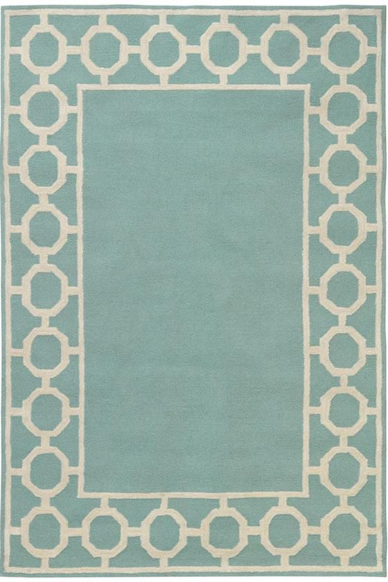 Love this aqua rug for the porch.  Even on sale, it's more than I want to pay, though.