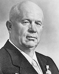 Nikita Chruschtschow-sowjetischer Politiker und Regierungschef