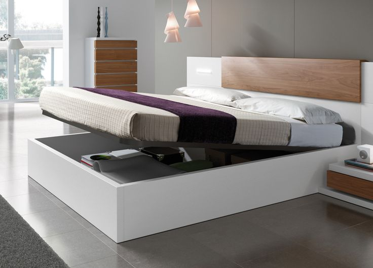 Kenjo Storage Bed - Storage Beds, Contemporary Beds & Bedroom Furniture