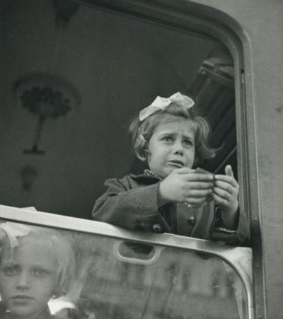 Late 1930's. German, Austrian and Czechoslovakian children of Jewish descent were permitted to leave their countries and families on the Kindertransport; a train bound for Britain.  These children ranged in age from infant to 17 and were placed with families in Britain.  Many never saw their parents again.