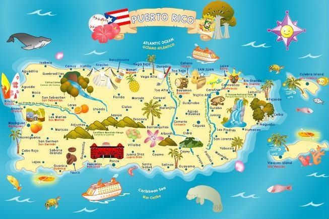 Map of Puerto Rico - Smart back home return ? retire as homeowner , business account , safe saving account , a regular car , a van , divide your groupies . kick out the gremos , kick out the jones, they consume you three box a day !, keep your table safe ! stay in shape !., keep your 2nd hometown house! ..... a return prevention program ..... .long time not see !! https://www.youtube.com/watch?v=sIRkosgwHkI