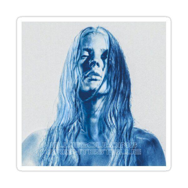 Ellie Goulding - Brightest Blue' Sticker by sidhartha in 2021 | Ellie  goulding, Ellie goulding album, Bright blue