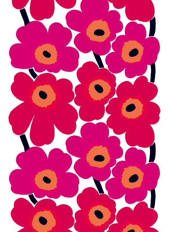 Unikko, design by Maija Isola for Marimekko.