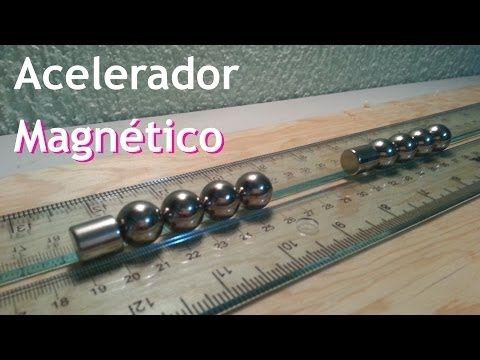 Lanzador Electromagnético -- Ley de Lenz - YouTube