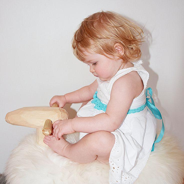 Crochet Baby Girl Belt, Aqua Blue Flower Girl Belt, Toddler Girl Belt, Crochet Flower Crown, Floral Belt, Baby Photo Prop, Mommy and Me by KeraSoftwear on Etsy