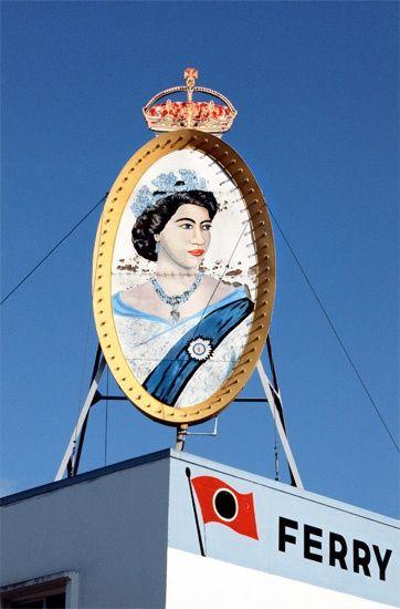 Fred Herzog Queen Elizabeth