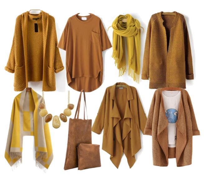 Camel & Mustard Winter Collection
