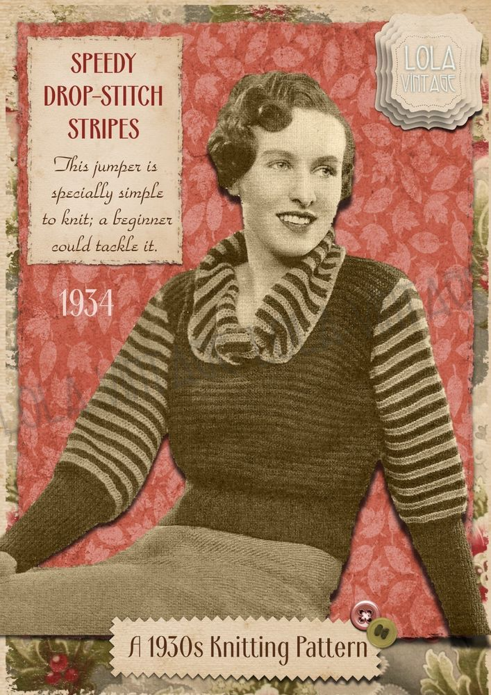 1944 Ladies Mens Boys Girls DK Overtops With//Out Hoods Vintage Knitting Pattern