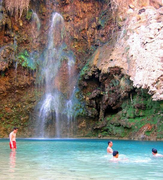 Pir Ghaib Waterfall,Quetta, Pakistan