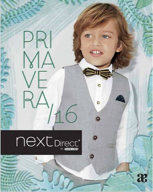 Folleto ropa de niños next direct primavera 2016