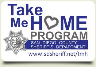 San Diego County Sheriff's Department | Take Me Home Registry