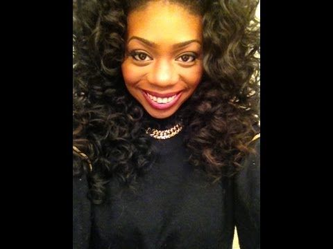 ▶ Fix Yo Hair! Bantu Knot Out on Brazilian Hair - YouTube