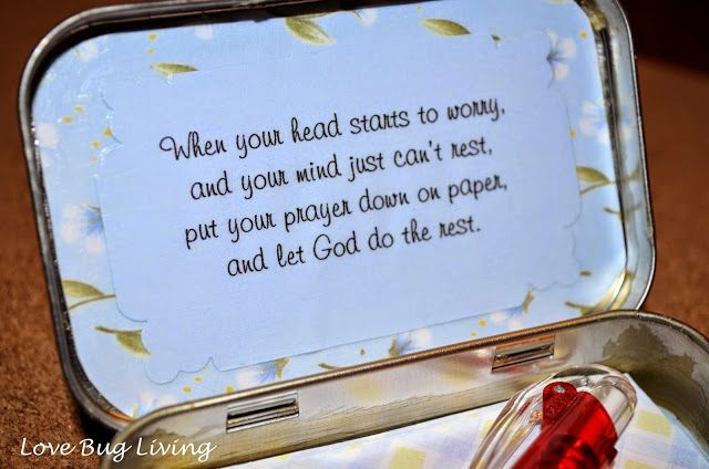 25 best ideas about prayer box on pinterest secret for Mini tin mailboxes for crafts