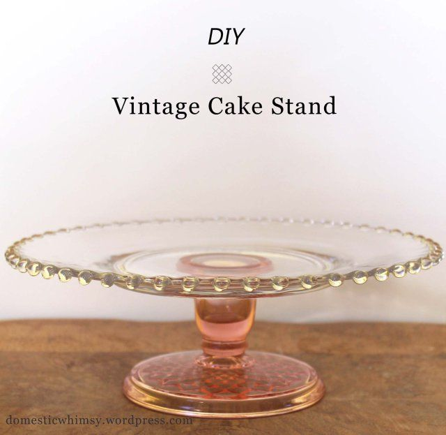 Second Hand  Tier Cake Stands