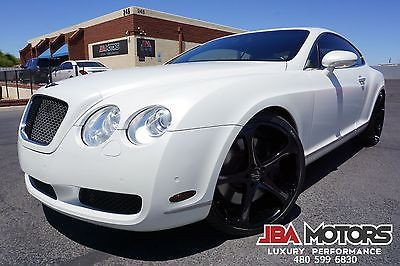 White Bentley Coupe