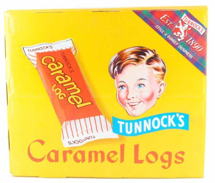 Tunnocks Caramel Log - IT COULD GET MESSY...
