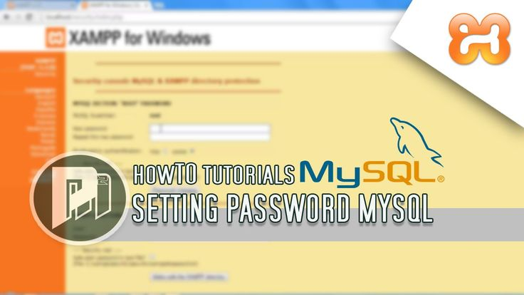 #4 Project Masunduh2 - Cara Setting Password Mysql Database di Phpmyadmin(XAMPP)