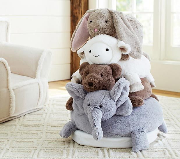 Babys First Christmas Gift Idea: Animal Plush Stacker