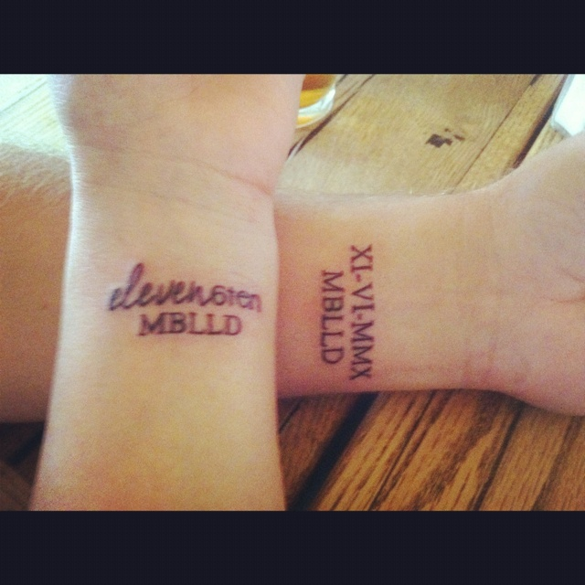 20 Numeric Date Tattoos For Couples Ideas And Designs