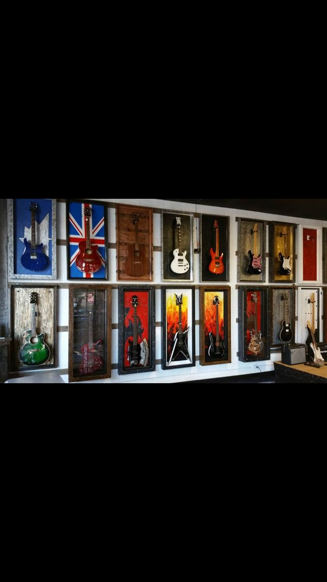 262 best guitar display case shadow box images on pinterest guitar display case shadow box. Black Bedroom Furniture Sets. Home Design Ideas