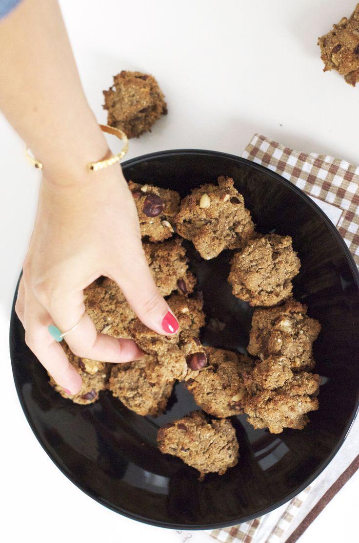 Biscuits vegan et sans gluten aux noisettes (sans beurre, sans lait, sans oeufs) - Sweet & Sour | Healthy & Happy Living http://www.sweetandsour.fr #vegan #glutenfree #healthy