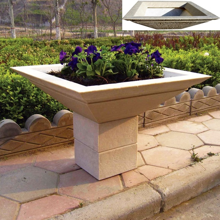 Cubic Planter Pedestal Riser For Autumn Leaf H X W. Pedestals Make Your  Planters A Beautiful Focal Point To Any Home, Garden Or Office.