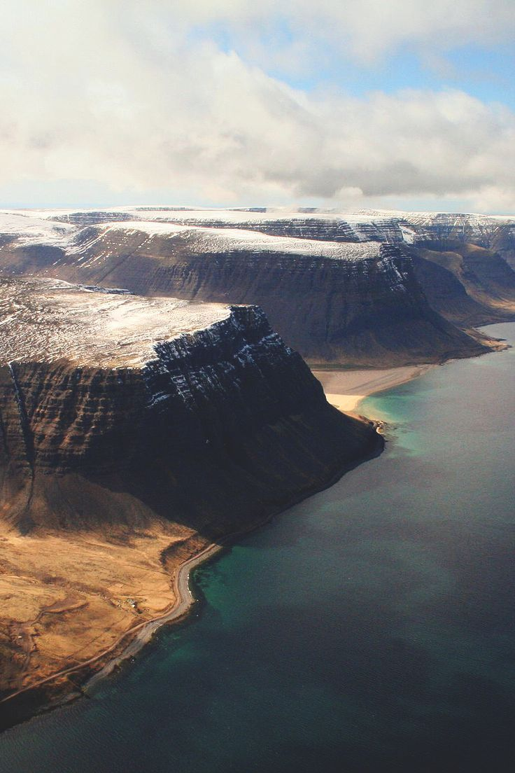 This is Arnarfjörður and it seems like the more difficult to pronounce, the more beautiful it is in Iceland... #travel #wanderlust