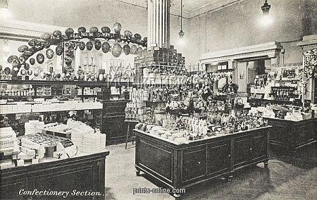 Harry Gordon Selfridge | Selfridges, London - Confectionery Section.Copyright © Mary Evans ...