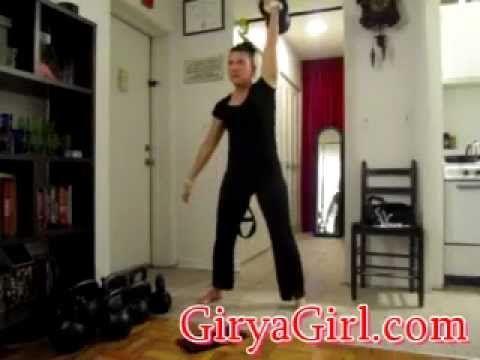 16kg kettlebell snatches, hanging leg raises  funtimes!