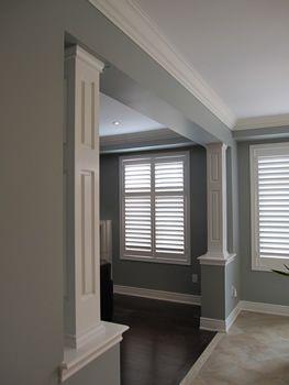 17 best ideas about interior columns on pinterest for Interior pillar designs
