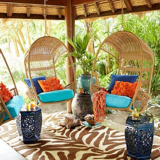 For the canopy tree in the front yard Style on a Budget: 10 Sources for Good, Cheap Outdoor Furniture & Accessories