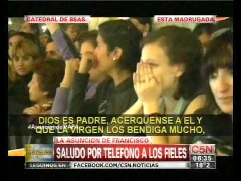 Así Recibieron En Argentina la Noticia del Nuevo Papa Argentino Francisco Primero Jorge Bergoglio - YouTube