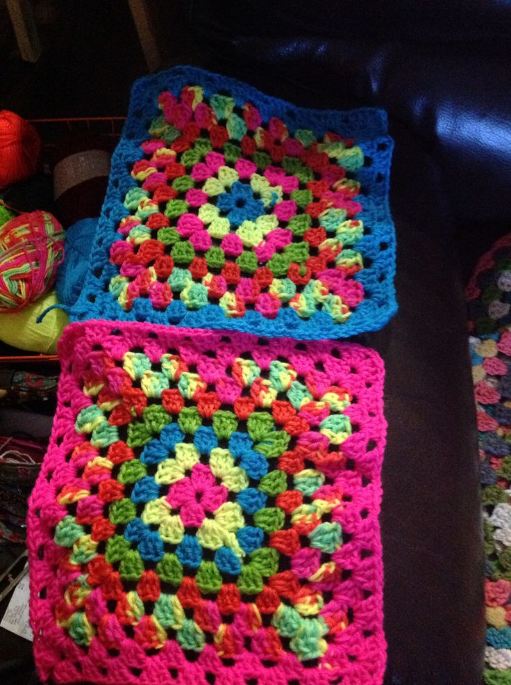 Beginning of blankets for my niece and nephew